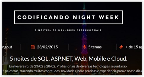 Evento – Codificando Night Week 2016