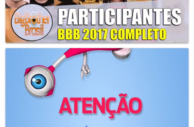 App Big Brother Brasil 2017